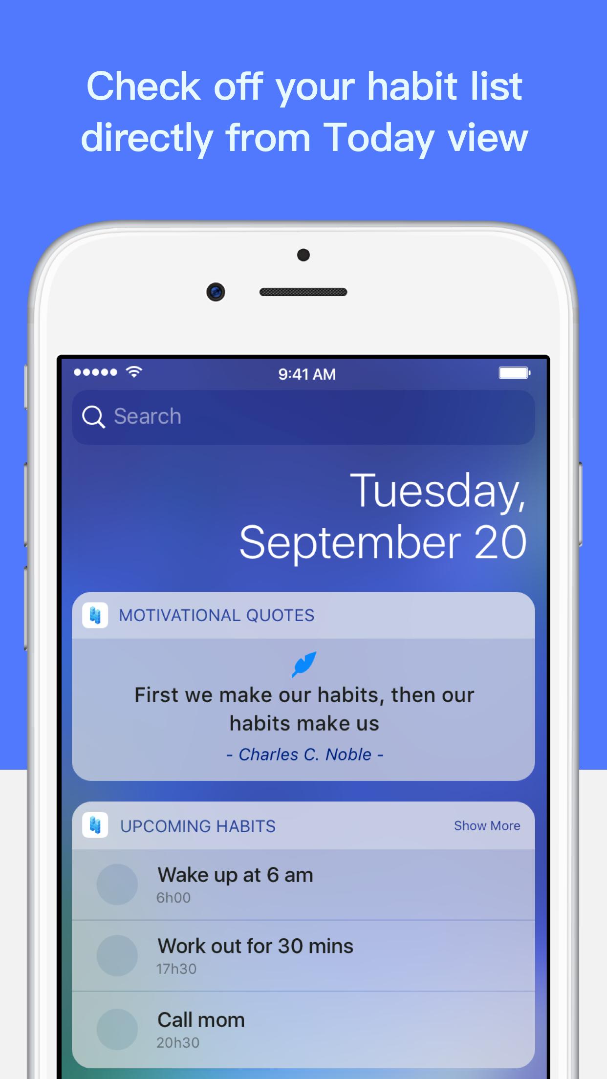 Screenshot - iPhone 6 Plus - Today widget.png