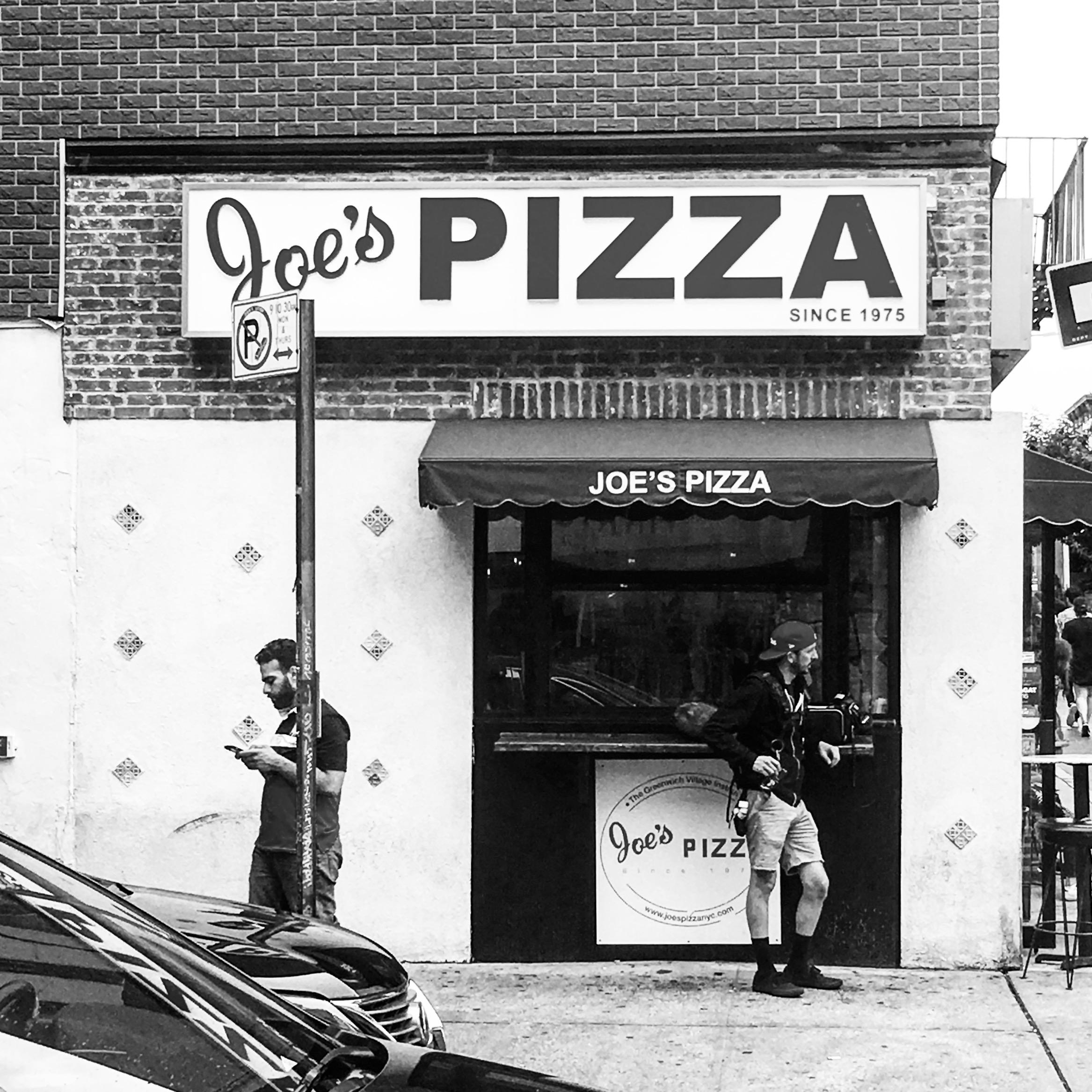 JOE'S PIZZA | WILLIAMSBURG, BROOKLYN