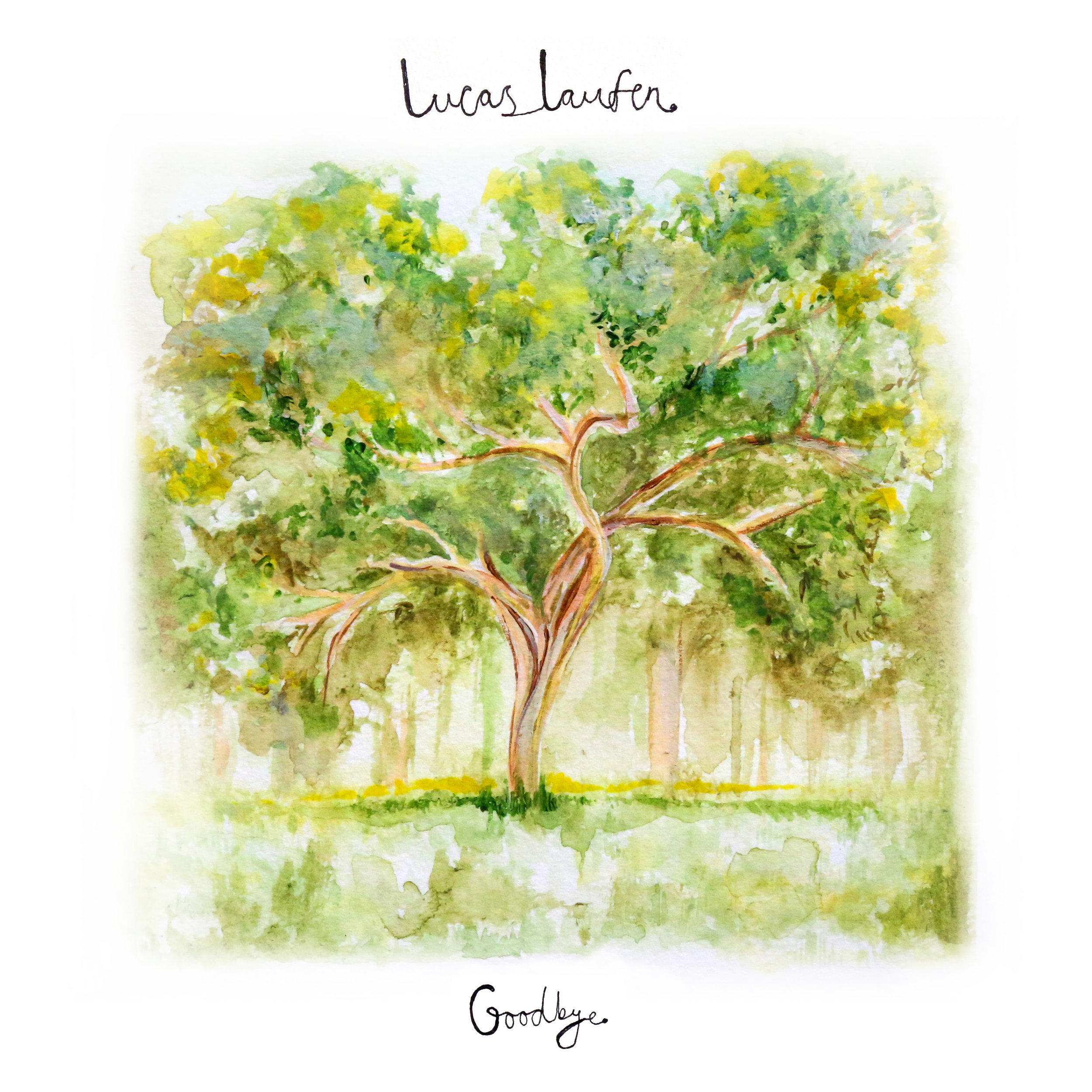 Lucas Laufen: Goodbye EP (CD) - CD in beautiful, glossy 4p DigiPak.BUY NOW