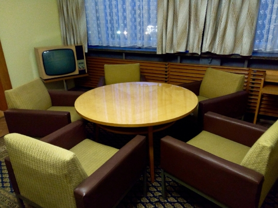 Part of Erich Mielke's suite of private rooms