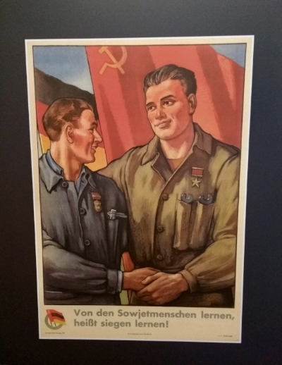Poster - learning from the Soviet Union.