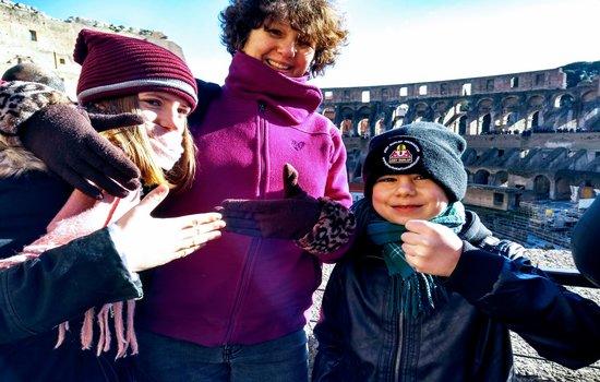 Luca, Romeo and Sarah at the Colloseum.jpg