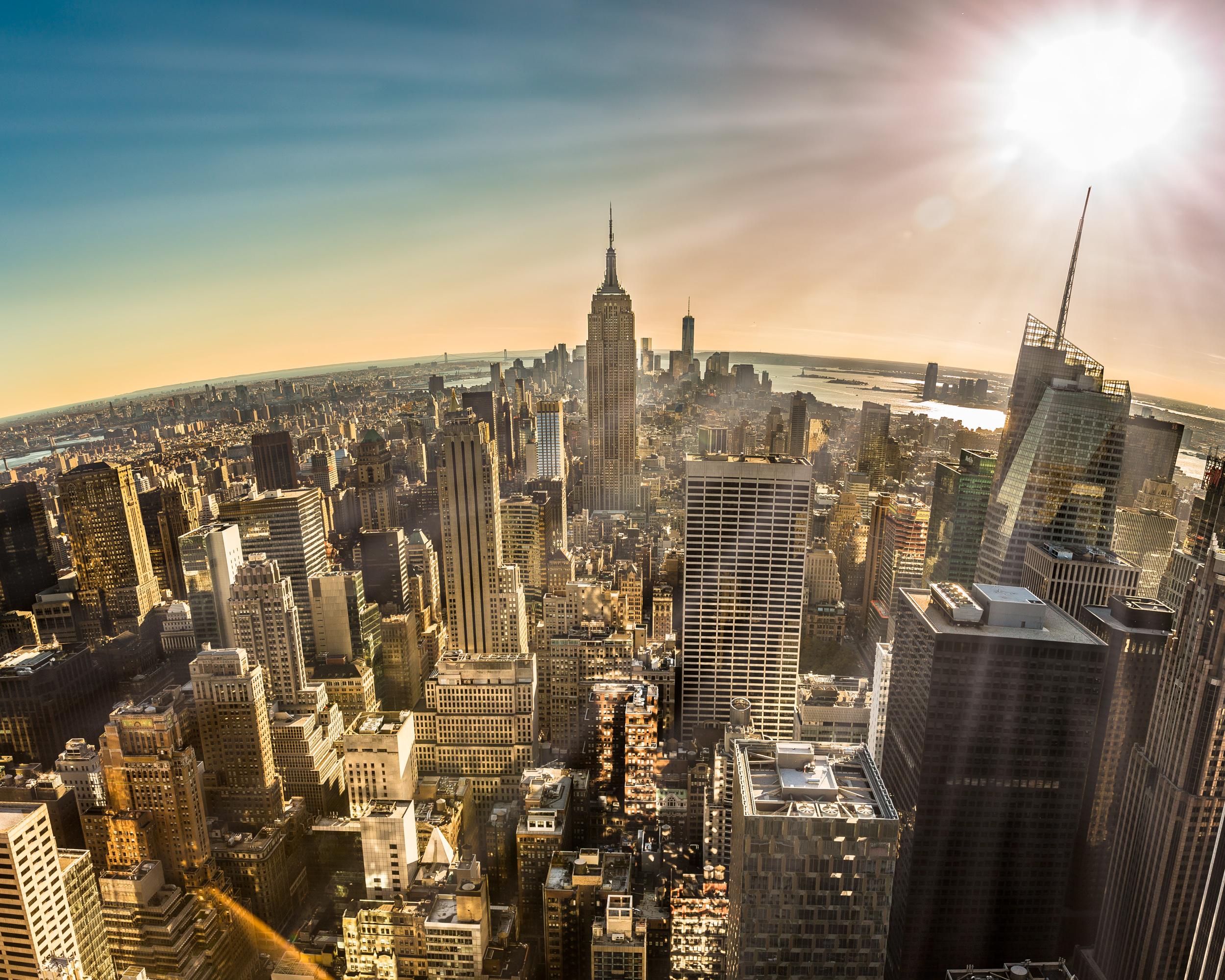 Manhattan catching rays.jpg