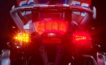 MOTORCYCLE BRAKE LIGHT LED UPGRADES
