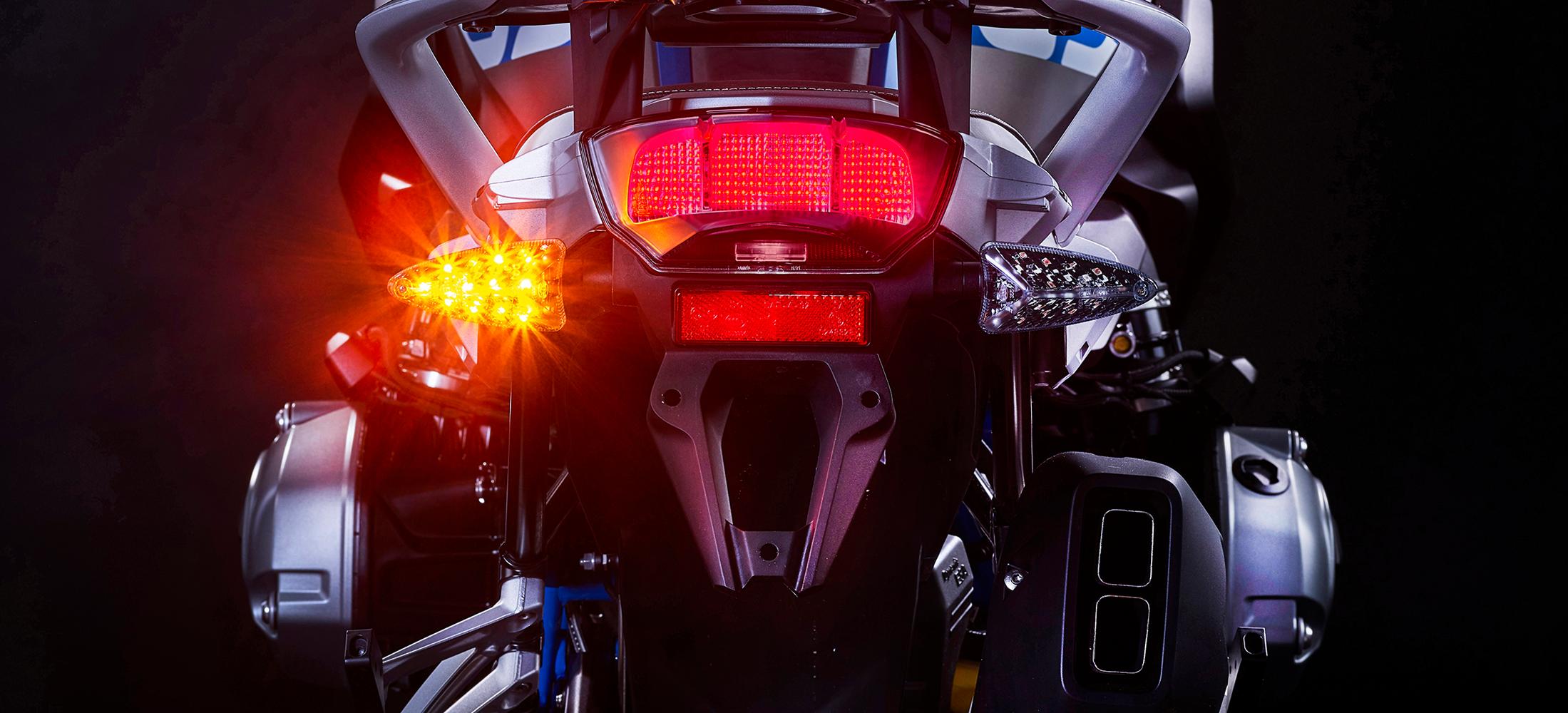 2-in-1 Dual Motorcycle LED Brake Light/Turn Signal Upgrades