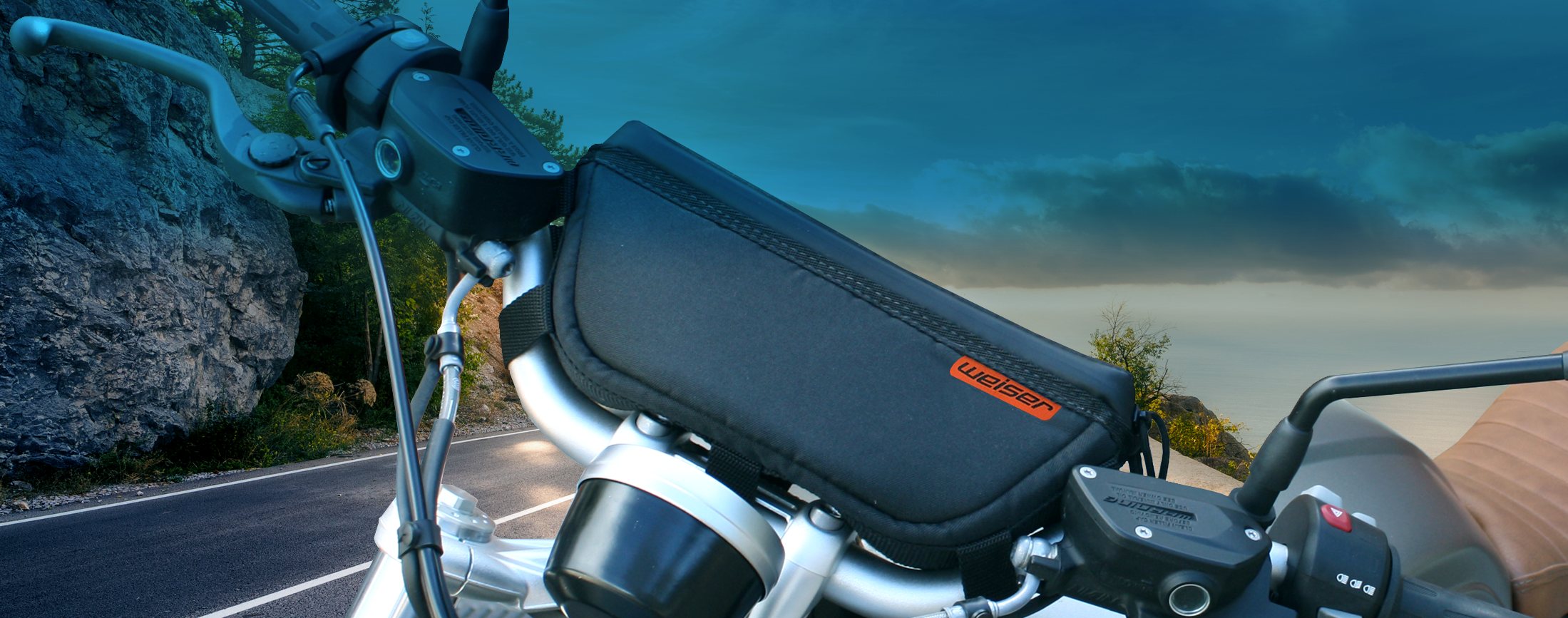 NEW! Adventure Motorcycle Handlebar Bags