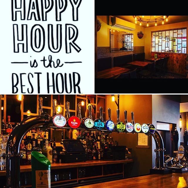 What's better than 1 hour of happy hour? 3! Join us between 4-7 for 30% of all drinks #happyhour #tgif