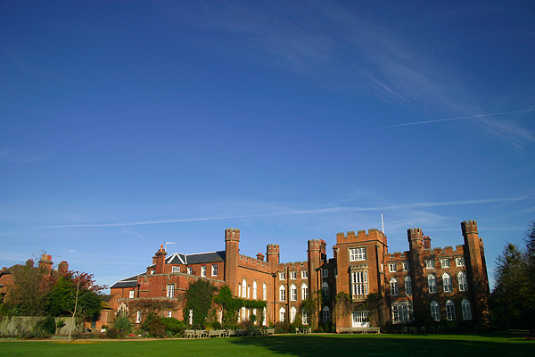 Cumberland Lodge. The Duke of Marlborough used to party here, now I get to.