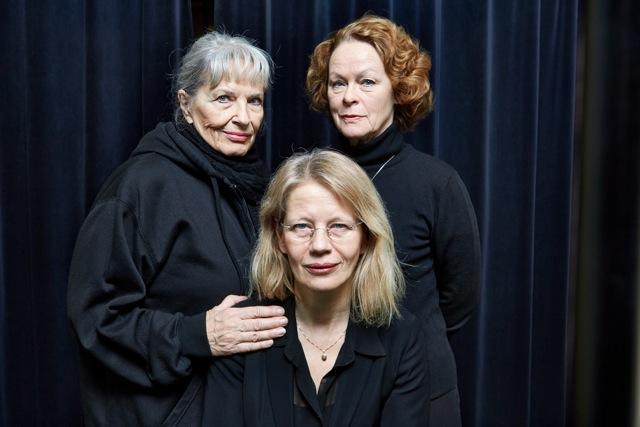 Arnaía (2014):Gunnel Lindblom, Iréne Lindh and Kim Hedås. ©Bengt Alm/Audiorama