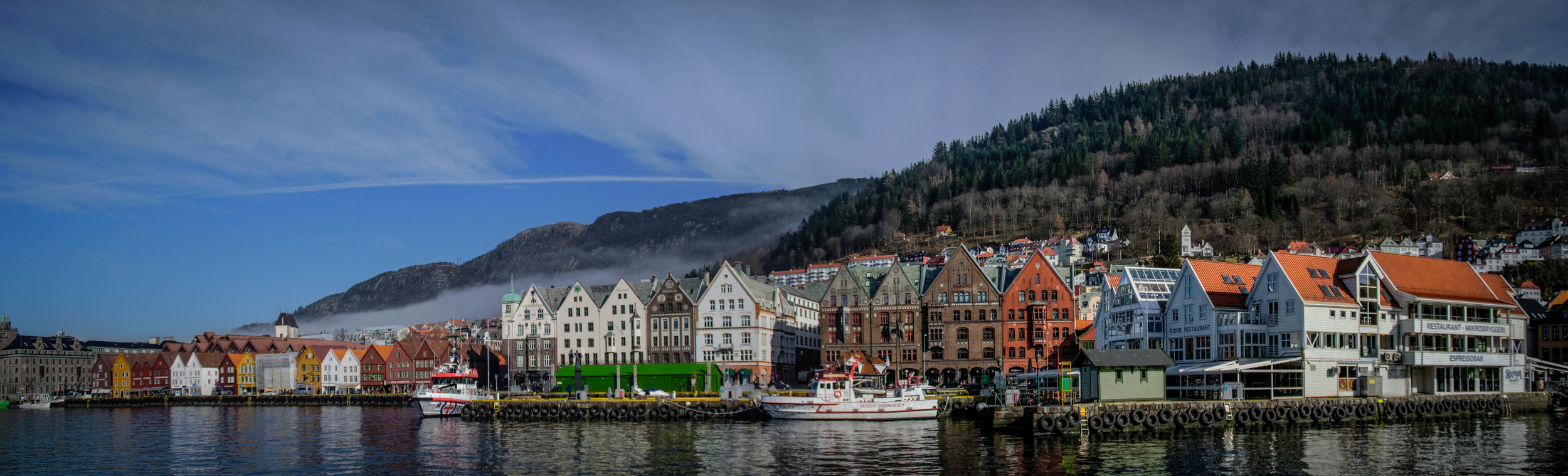 Bryggen, Bergen. ©Iain MacFadzean/Wikimedia Commons  ( CC-BY-SA-4.0 )