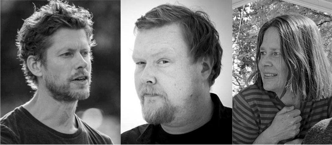 Från vänster: Per Hasselberg, Tony Blomdahl och Cecilia Gelland.