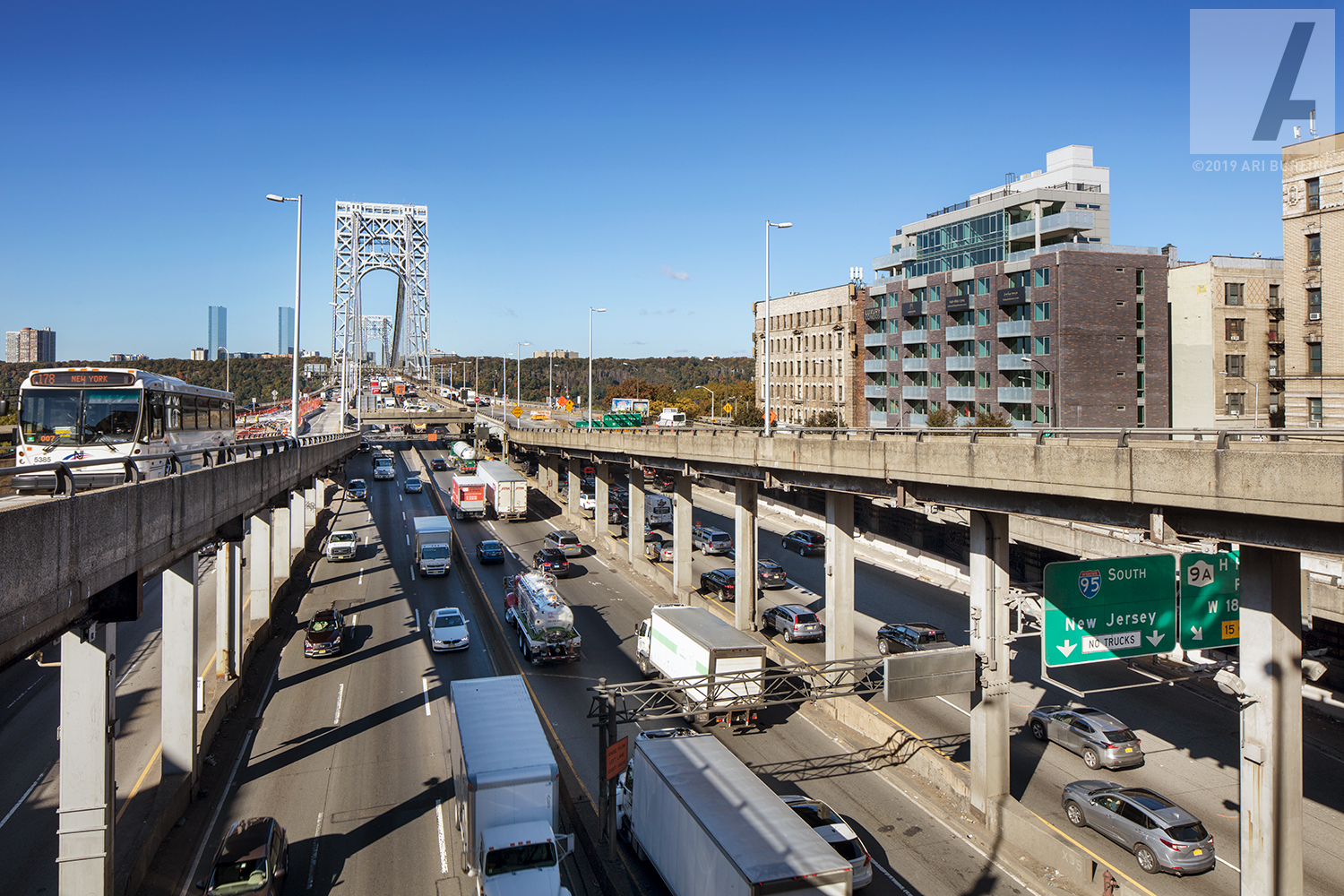Connection to the George Washington Bridge