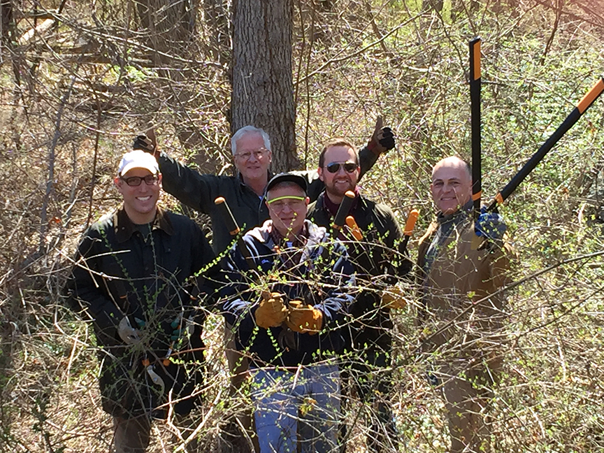 The Deviners' inaugural assault on March 26, 2016 led by TPTAB member, Christopher Gow. Thank you (from left to right), Stephen Brodheim, David du Pont, Gardiner Hempel, James Oberle and Christopher Gow!