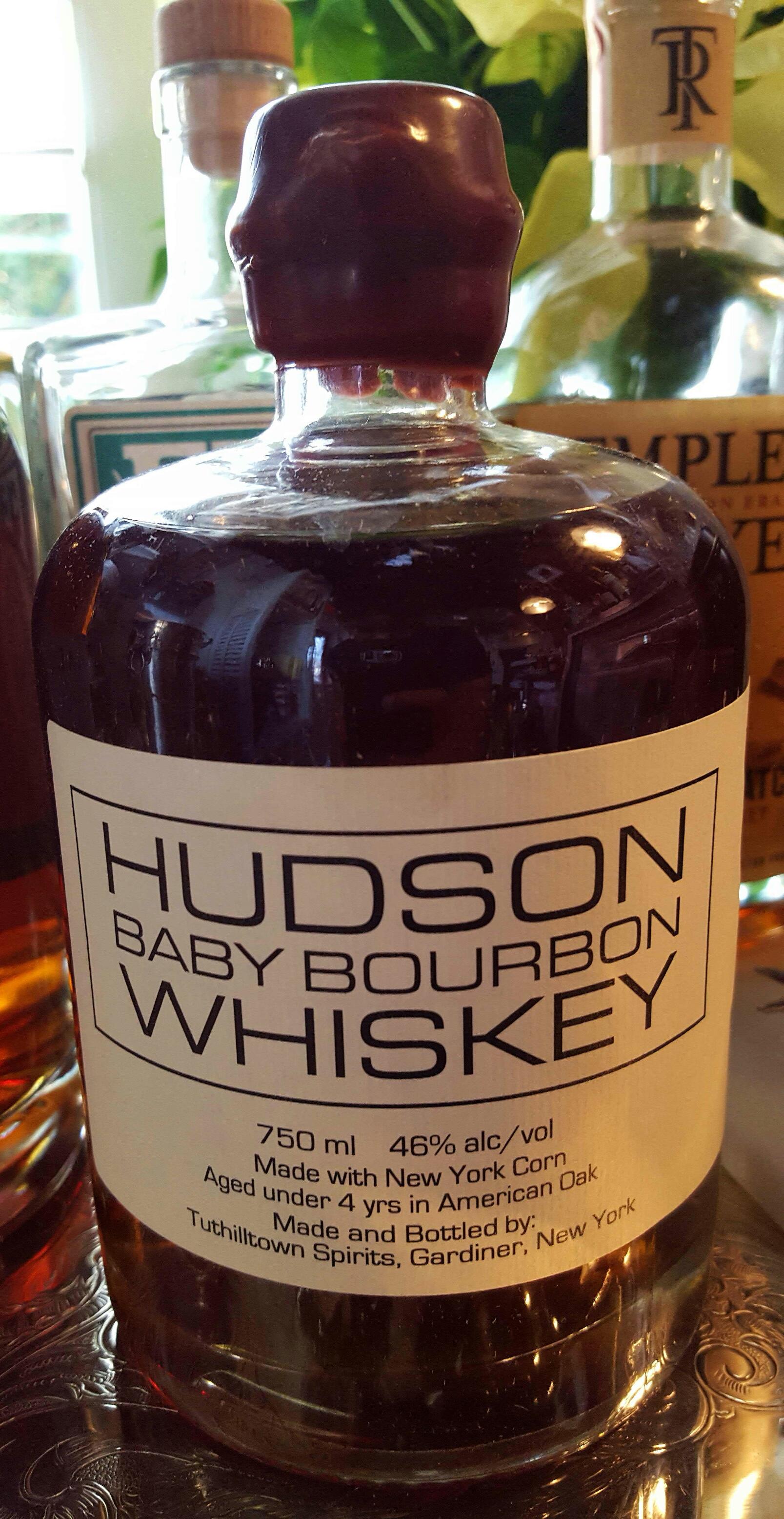 Big Bottle Hudson Baby Bourbon