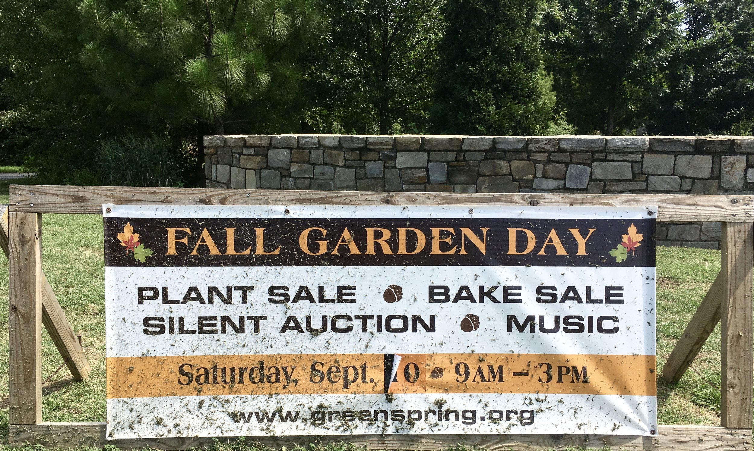See you Saturday, September 10th at the Fall Garden Day!