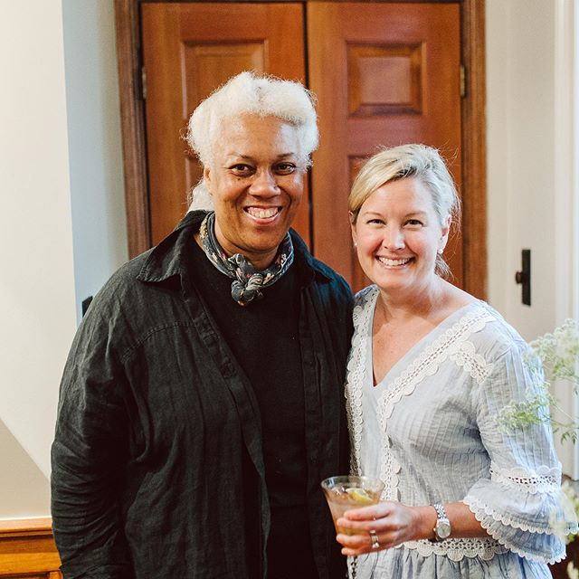 Some great candids of the Sloan's wonderful farewell party.  Photography by @kiyahc • • • #charleneskitchen #charlenesvault #oldtownalexandria #alexandriava #catering #caterer #party #goingawayparty #candid #fun #cheers #drinks