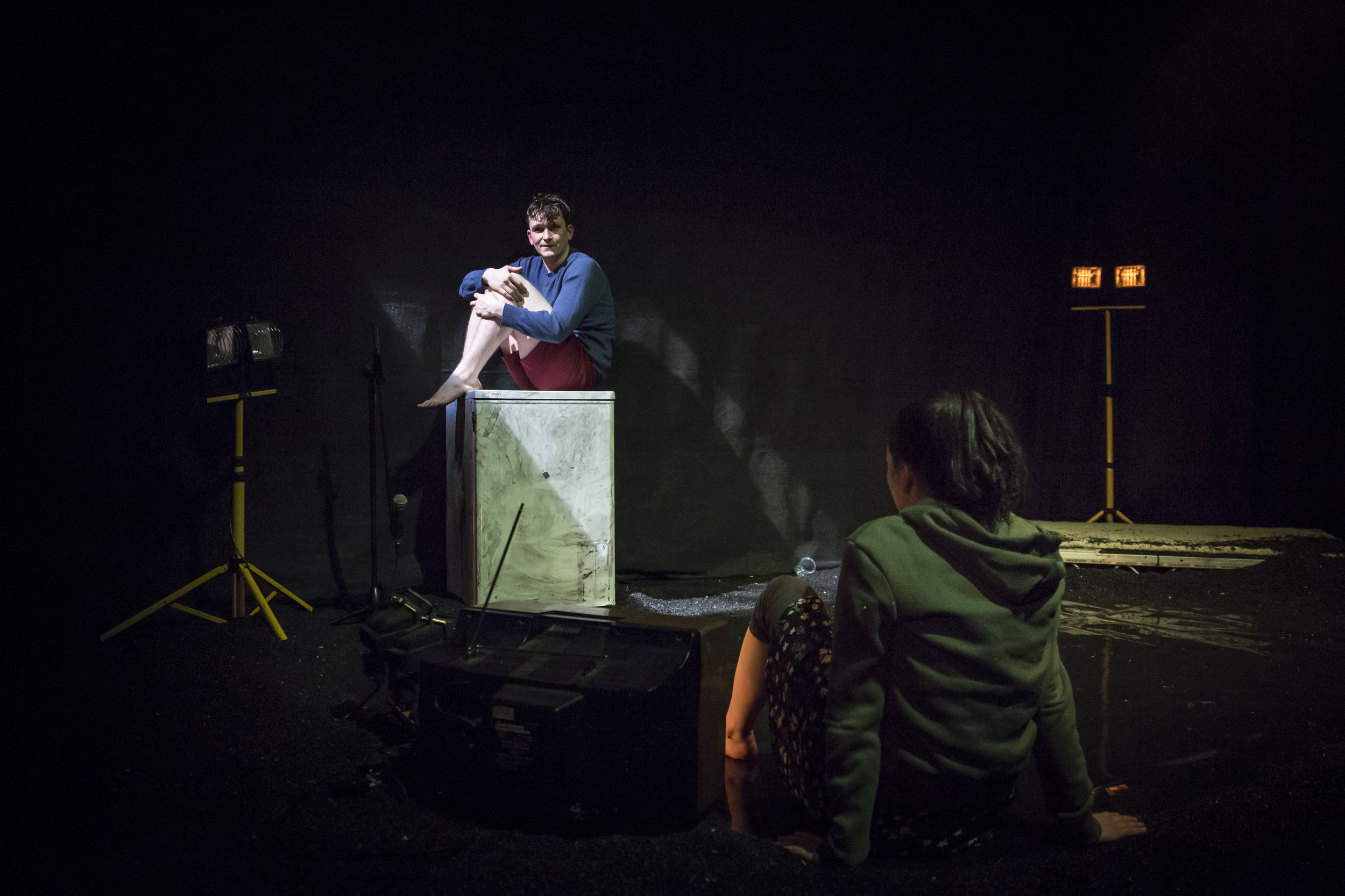 """"""" Directed with intense finesse by Cathal Cleary. Not for the faint-hearted, but definitely for an audience ready to receive an ugly, inventive and highly talented, almost cosmic view .""""    Sunday Independent"""