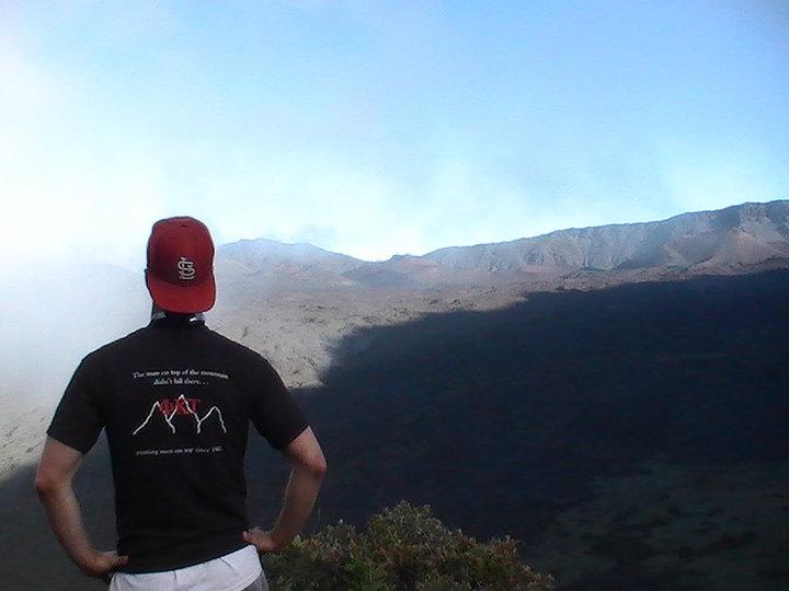 Atop Haleakala Crater in Summer 2010