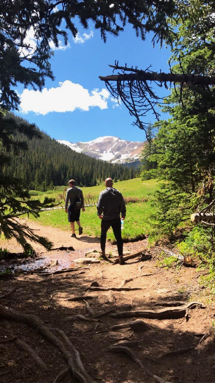 Herman Gulch Trail Breckenridge, CO in Summer 2017