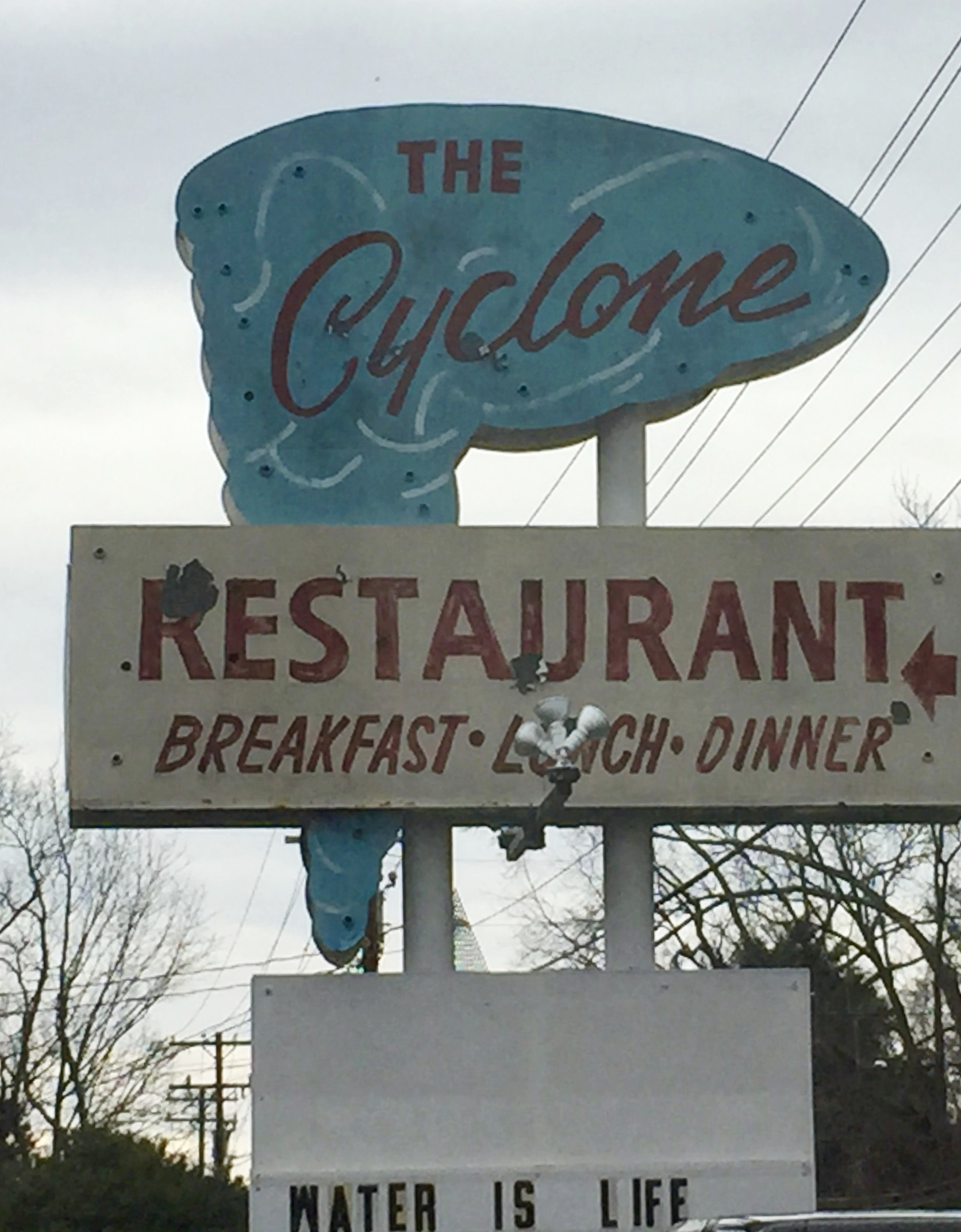 The Cyclone Restaurant, Chester, SC