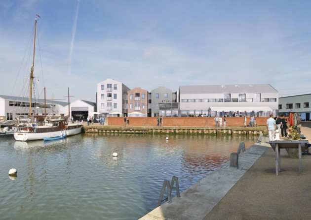 Whisstocks New development Picture from Ipswich Evening Star