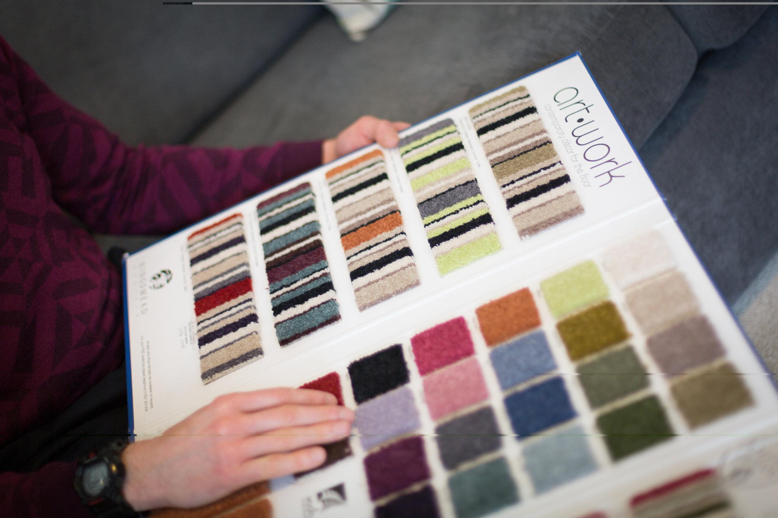 Colours or plains?