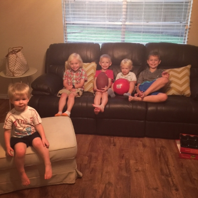 Some of the sweet littles we had in our home! This isn't even close to everyone.