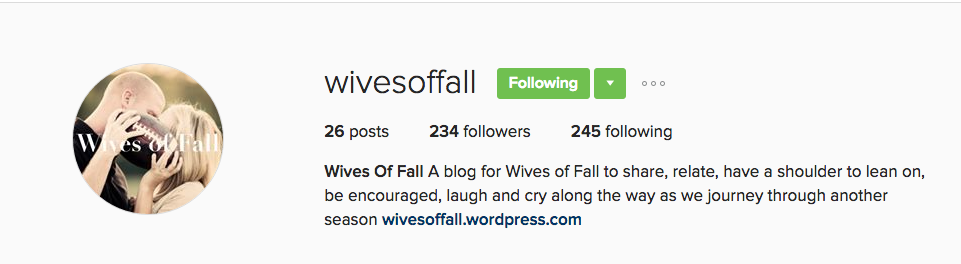 I LOVE this Instagram account! Such an incredible place to go for encouragement about this crazy life we lead.