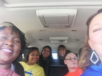 The complete #TeamKinder headed to our favorite afternoon spot...Sonic Happy Hour