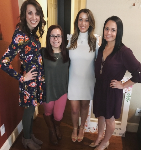 one of my favorite January events was attending the beauty in white wedding shower.
