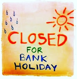We're closed for the bank holiday and taking a week off to rest and recoup before the new term begins.  It will be back to business as usual on Monday 2nd September  We hope you have a great weekend - it's looking like it will be a scorcher  #bankholidayhours #openingtimes #closedfortheholidays