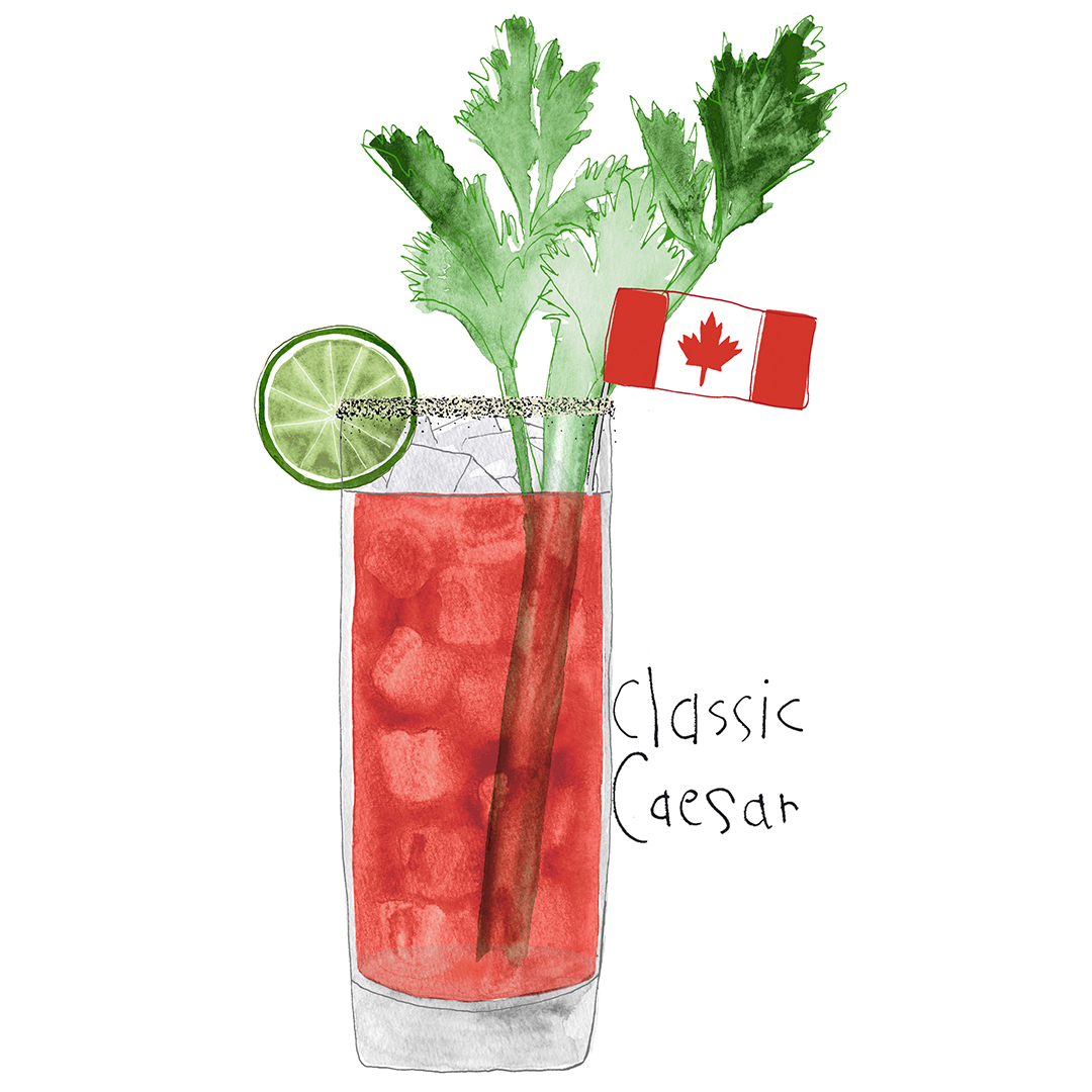 Hail Caesar! The Classic Canadian cocktail