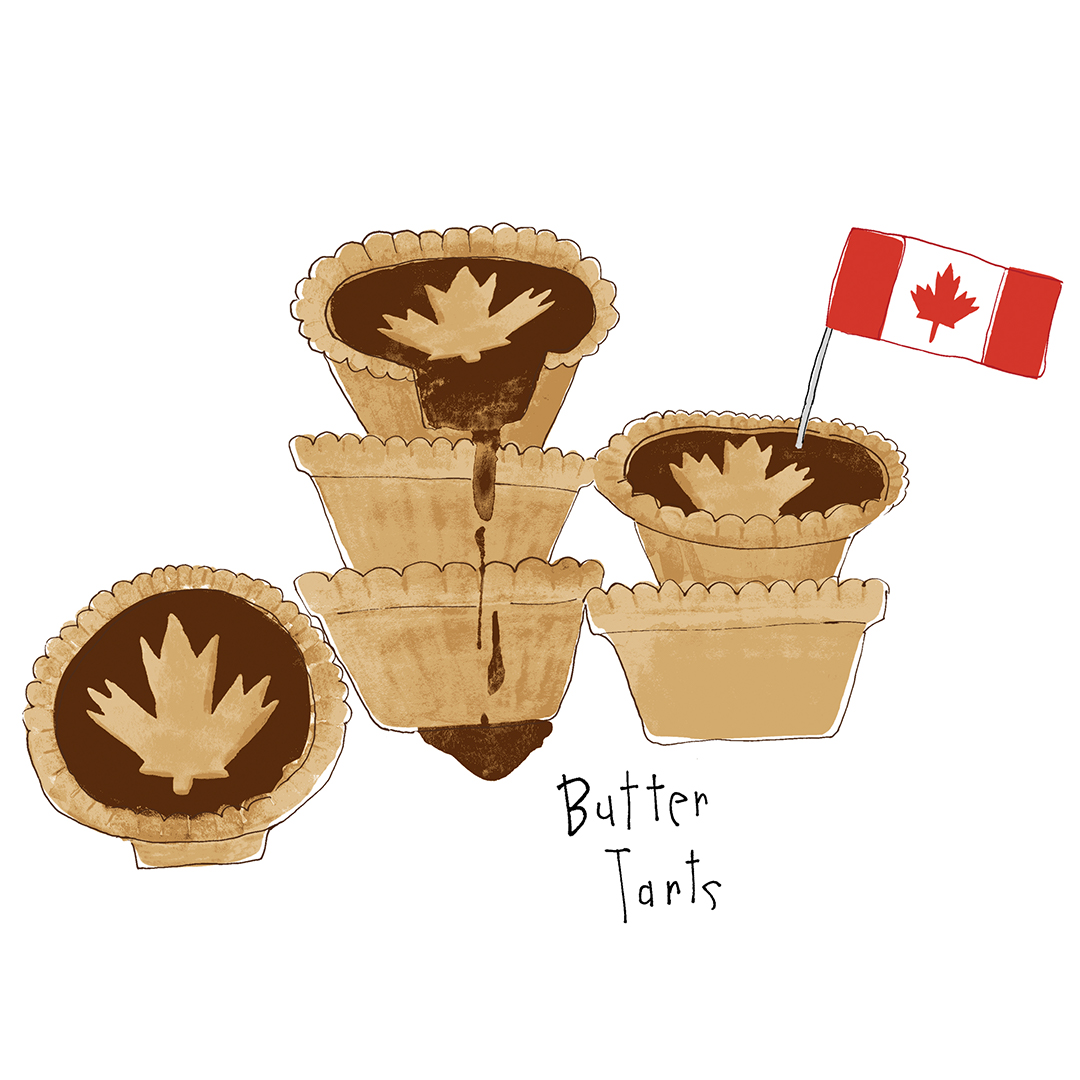 An ooey gooey Canadian classic! Butter tarts with or without raisins are an old fashioned Canadian treat.