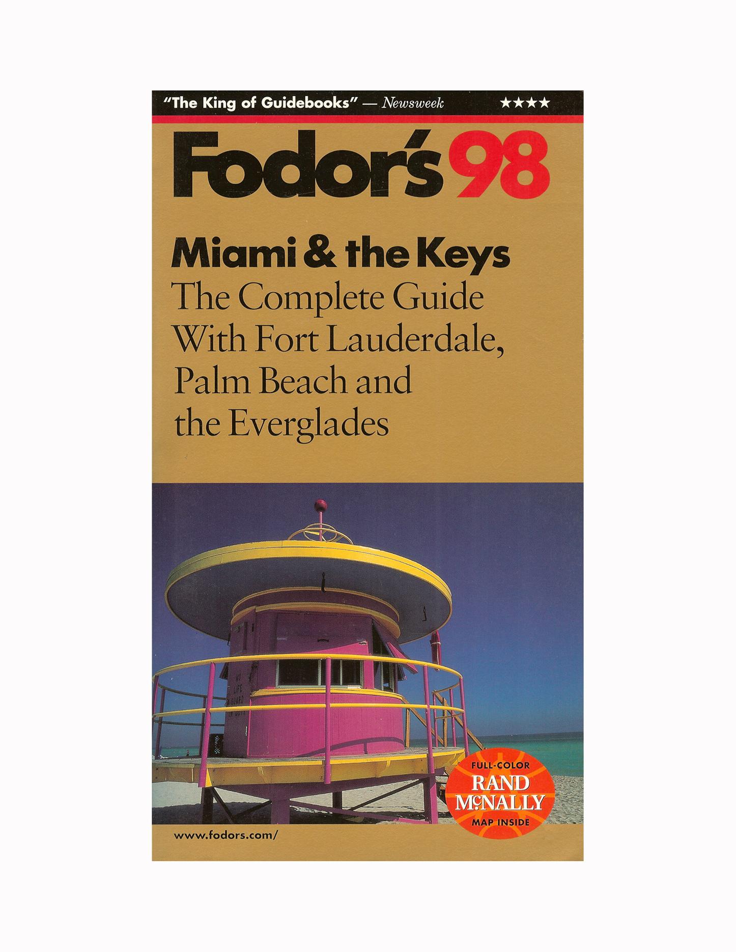 Fodors - Miami and the Keys 1998.jpg