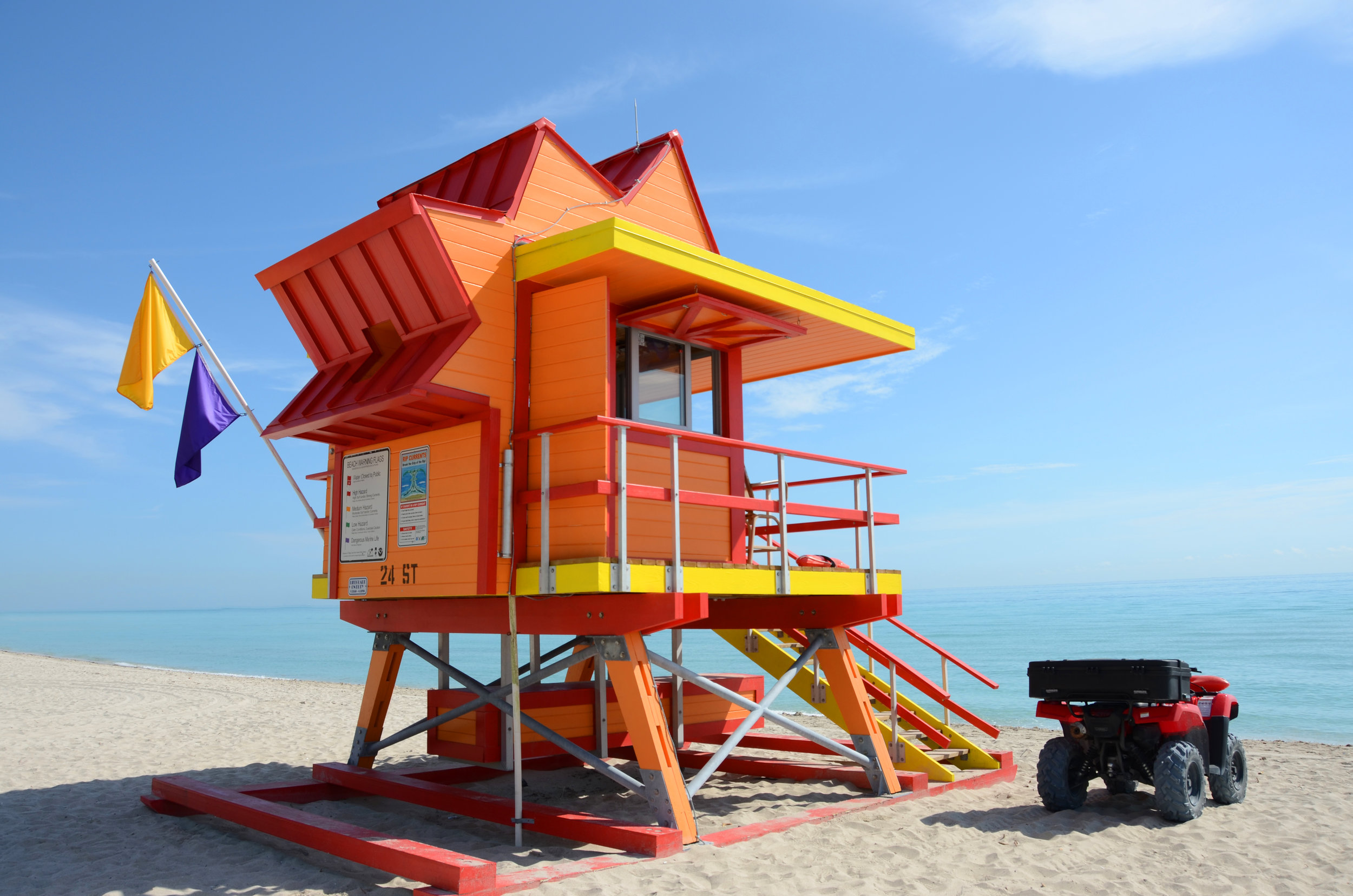 CITY OF MIAMI BEACH LIFEGUARD TOWERS