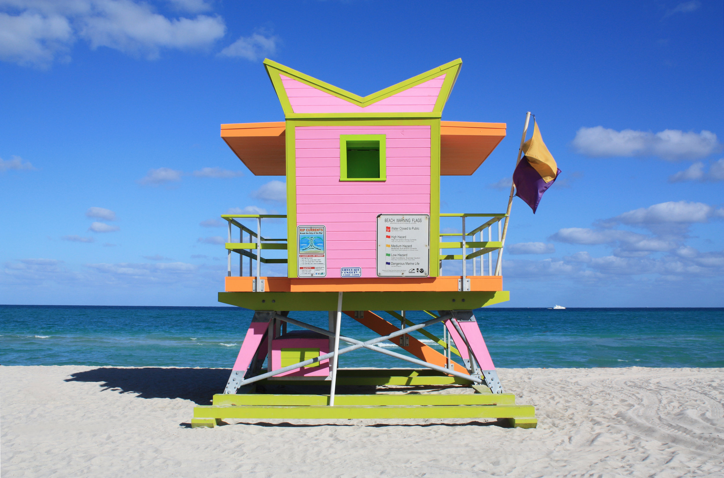 CITY OF MIAMI BEACH LIFE GUARD TOWERS