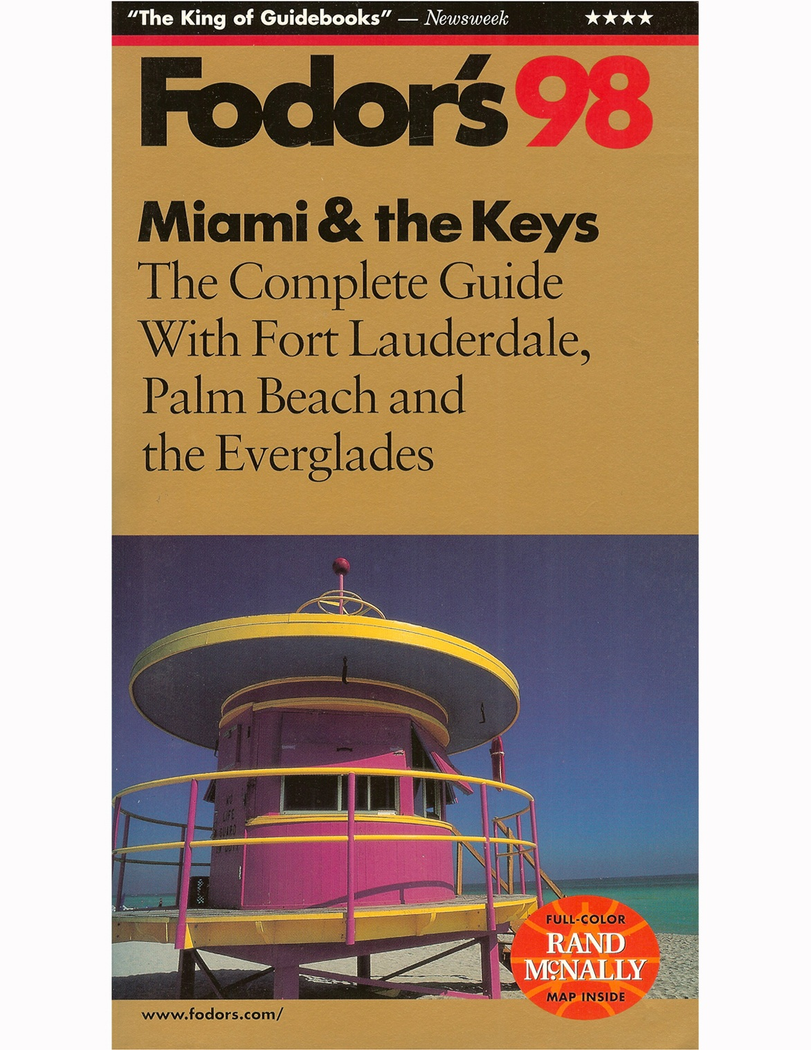FODOR'S: MIAMI AND THE KEYS, 1998