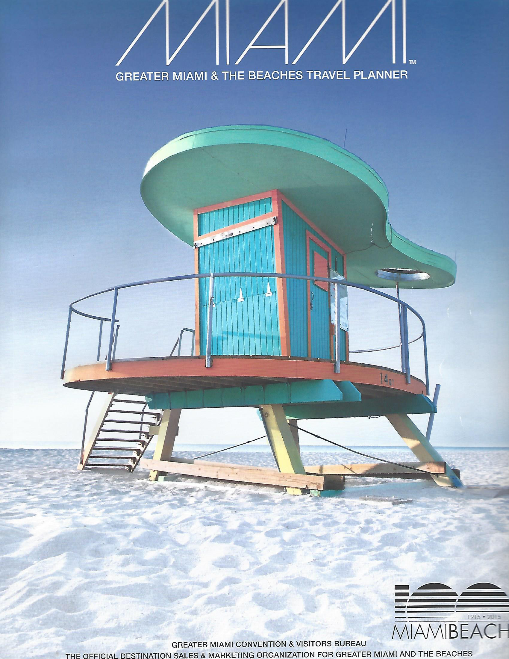 GREATER MIAMI & THE BEACHES VACATION PLANNER , 1998