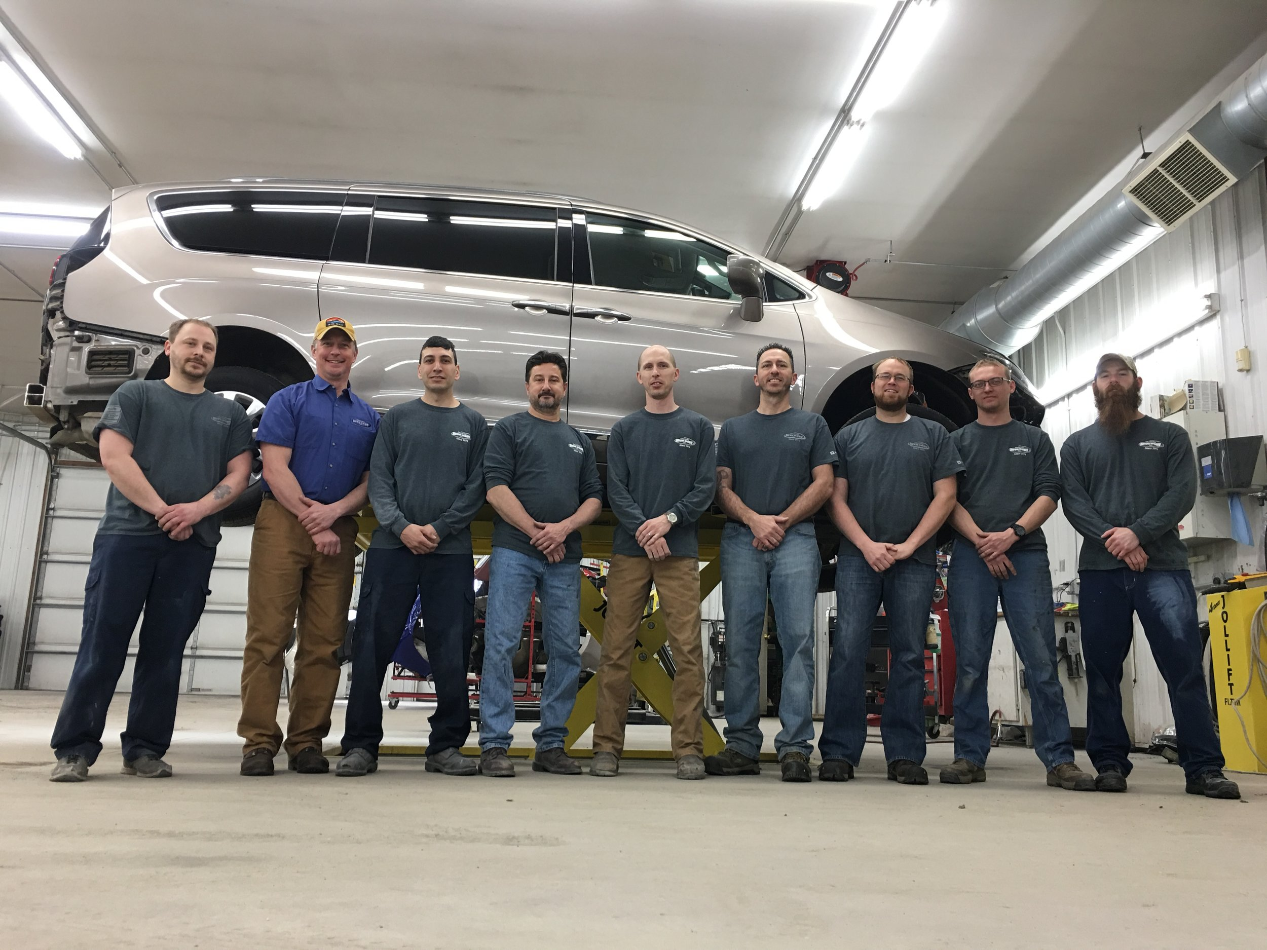 The staff at Osceola Auto Body
