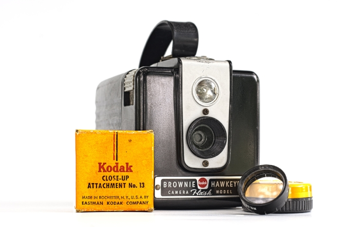 The Kodak Brownie 'Flash' Model