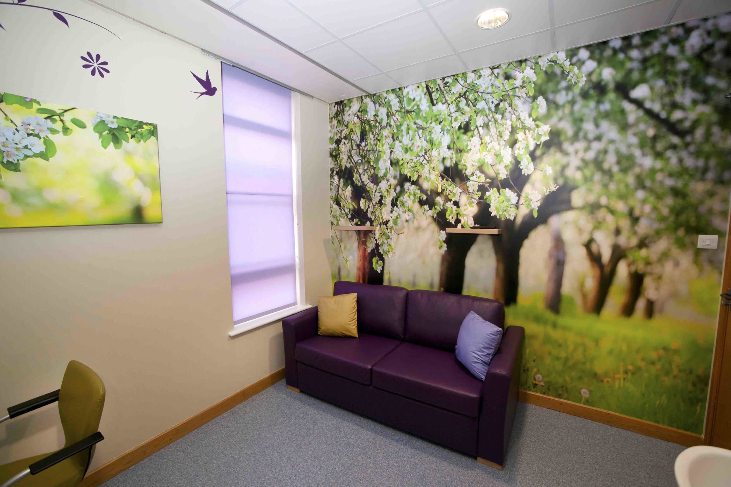 We organised a total revamp of the 3 parent rooms outside the children's intensive care unit at the Leicester Royal Infirmary with the full costs provided by Children's Charity Heartlink.
