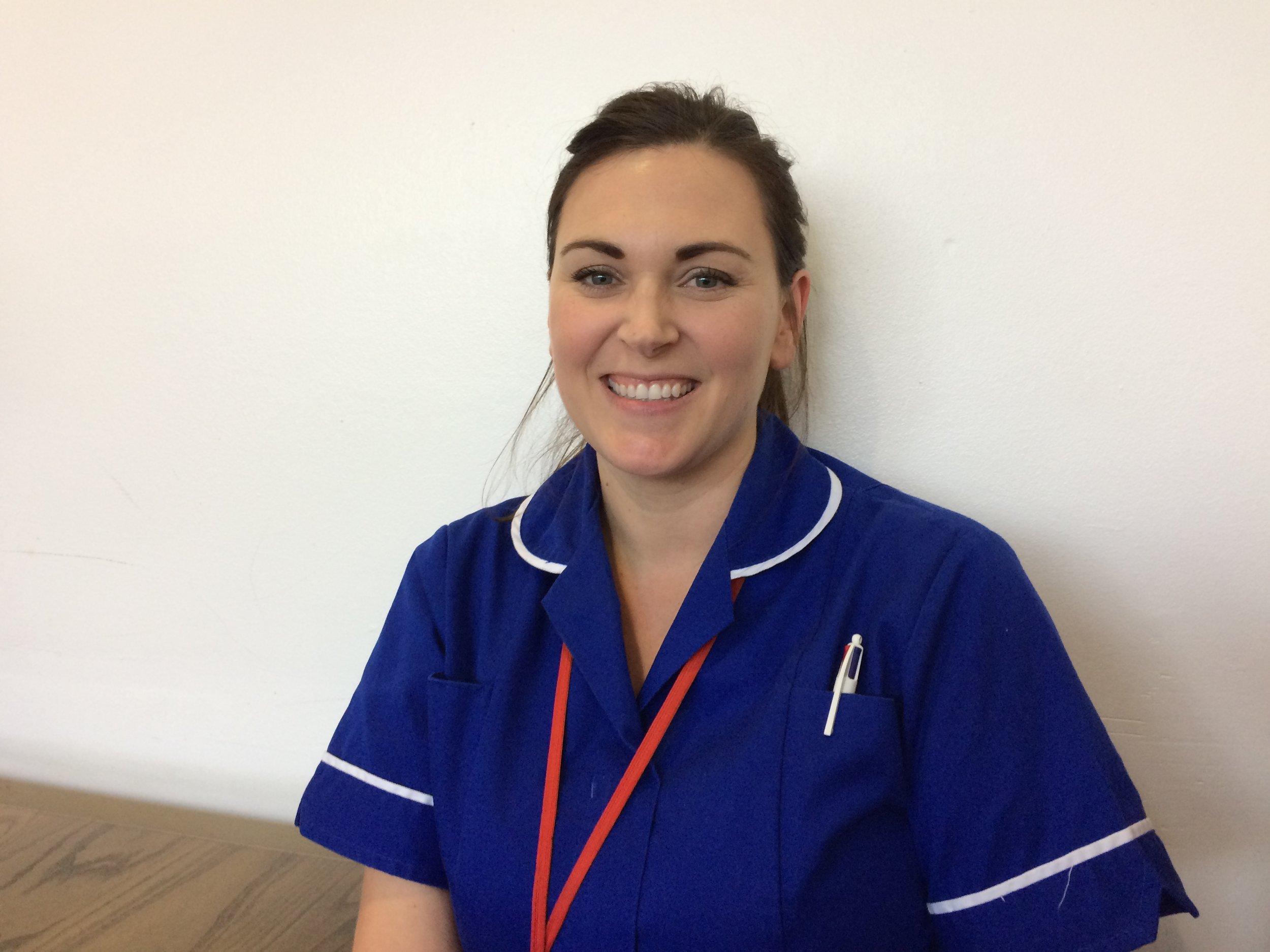 Rebecca - Thoracic Research Nurse.JPG