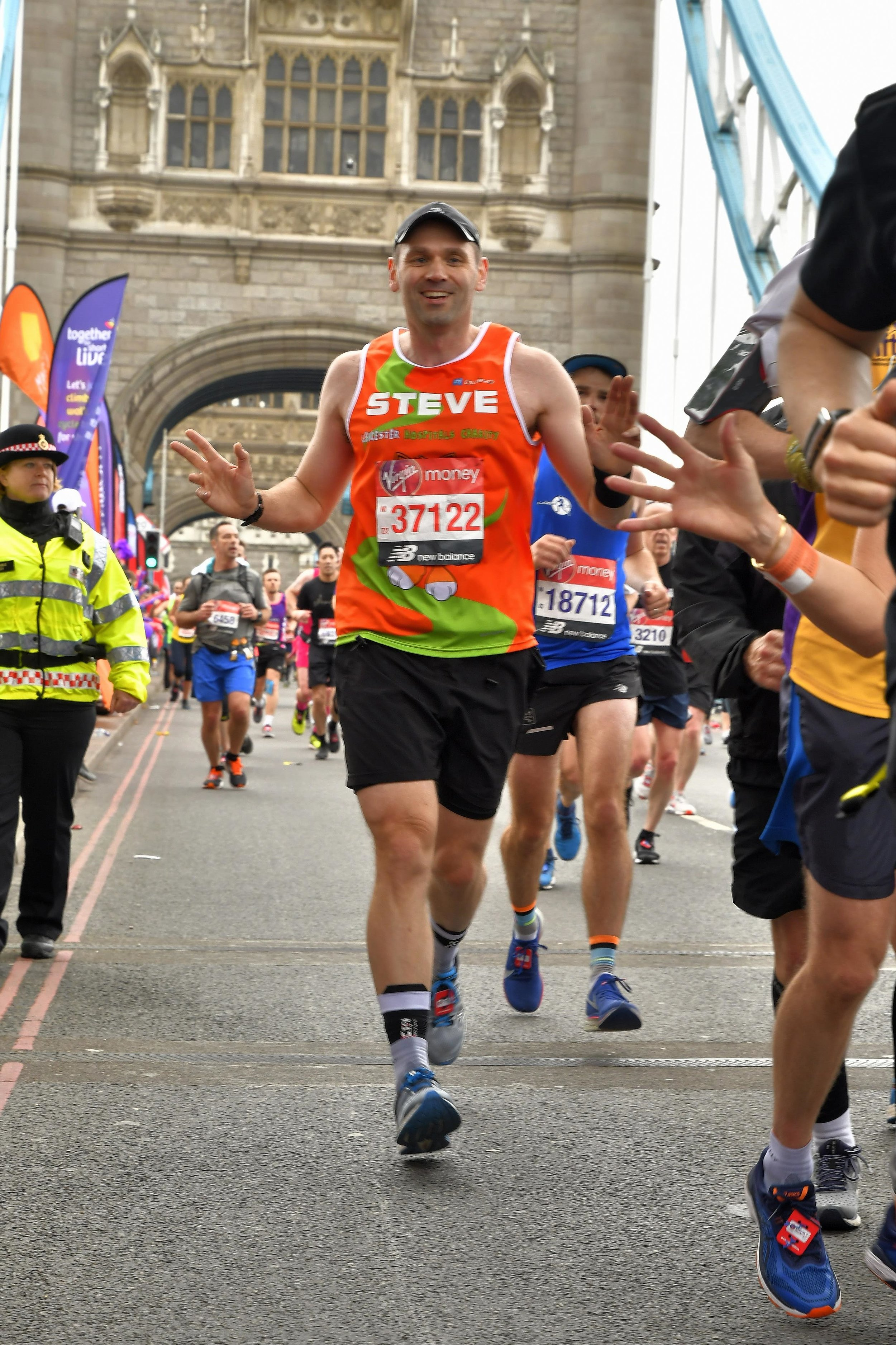 Be like Steve... Do the London Marathon for LHC.jpg