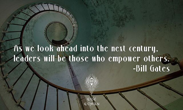 As we look ahead into the next century, leaders will be those who empower others. #hkig #hk #empower #leadership