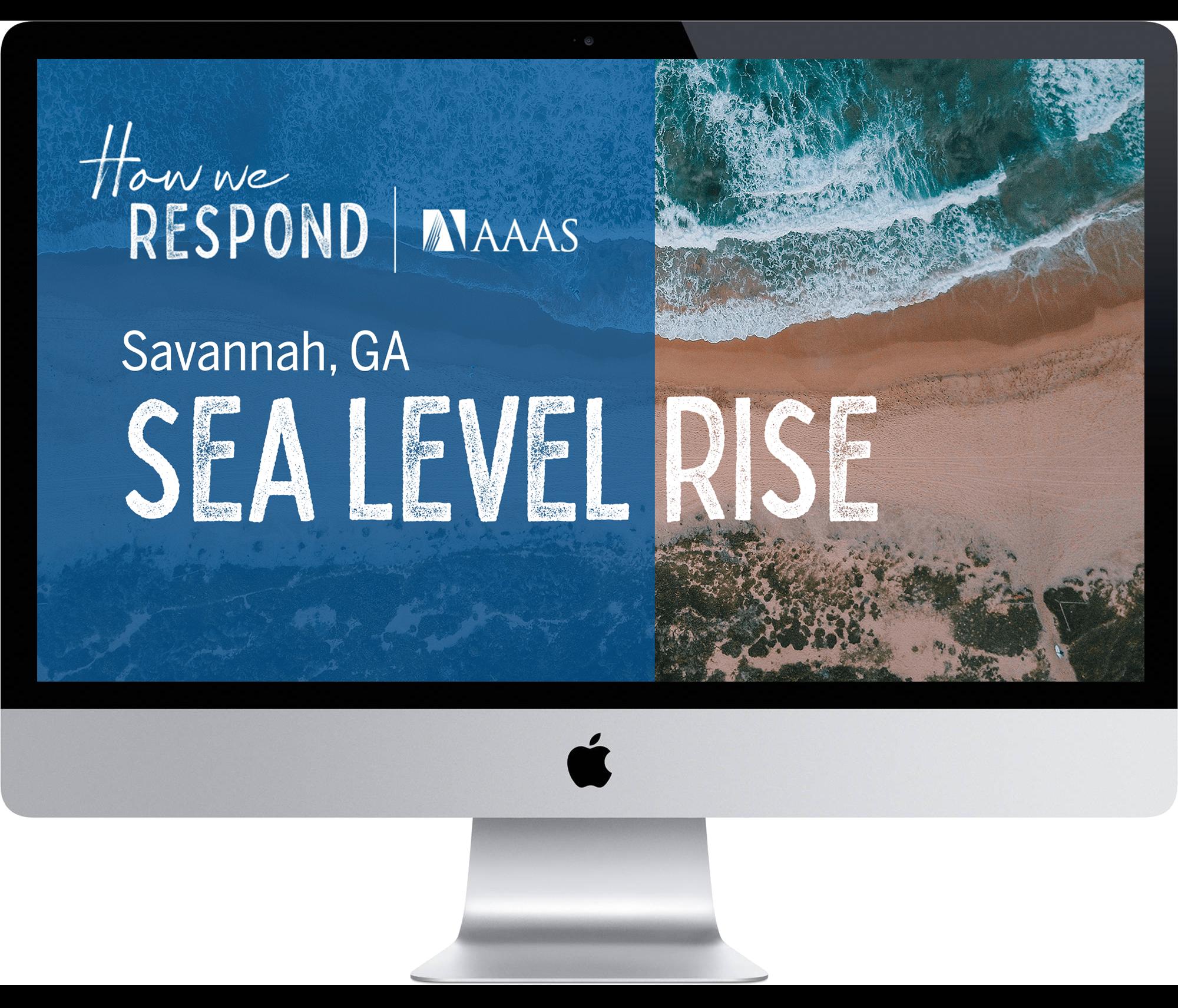 Savannah, GA - Sea level rise