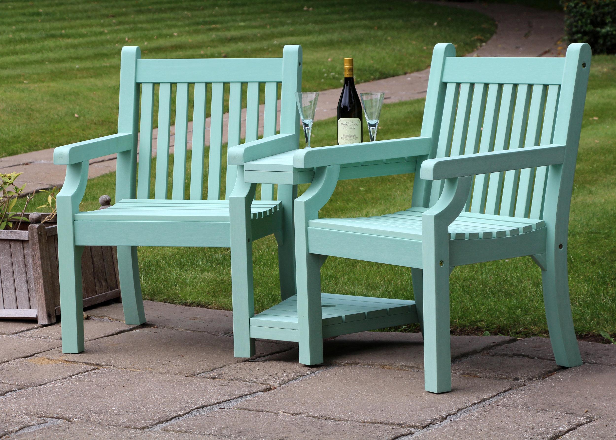 Love Seat (Duck Egg Green)