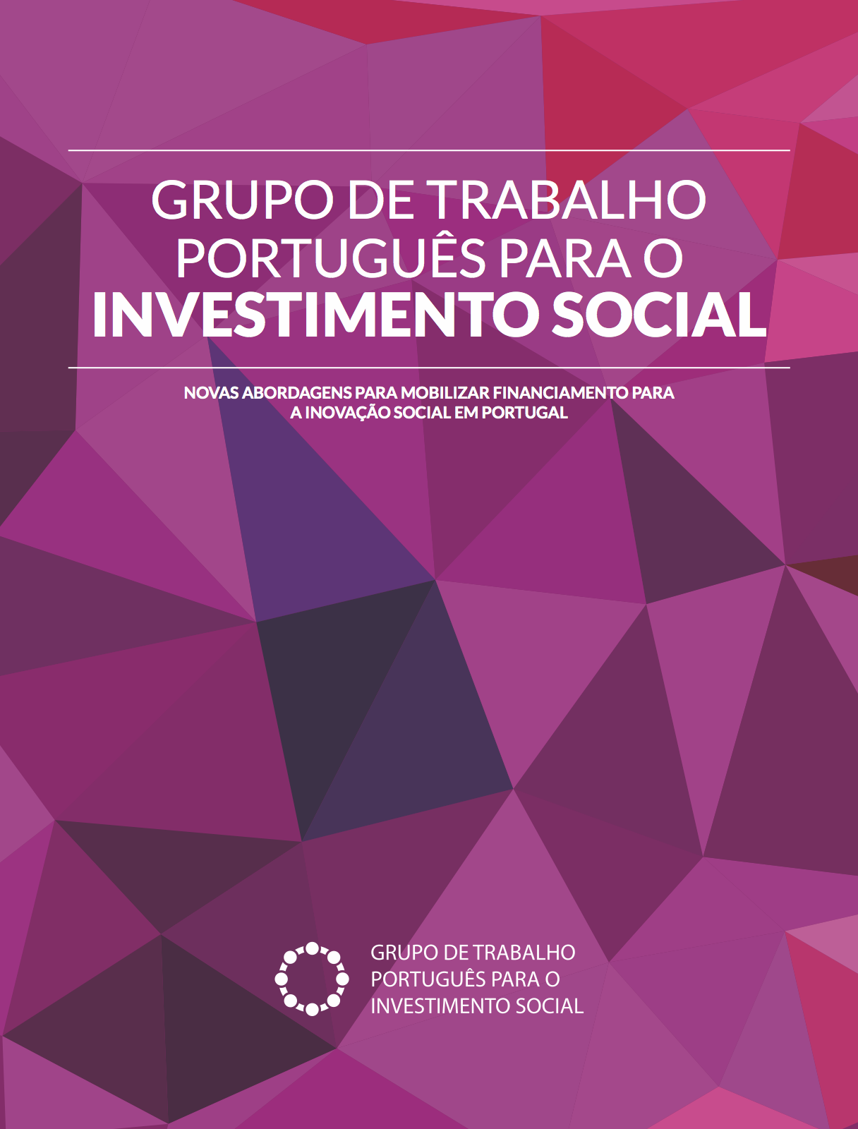 Relatório Final do Grupo de Trabalho Português para o Investimento Social