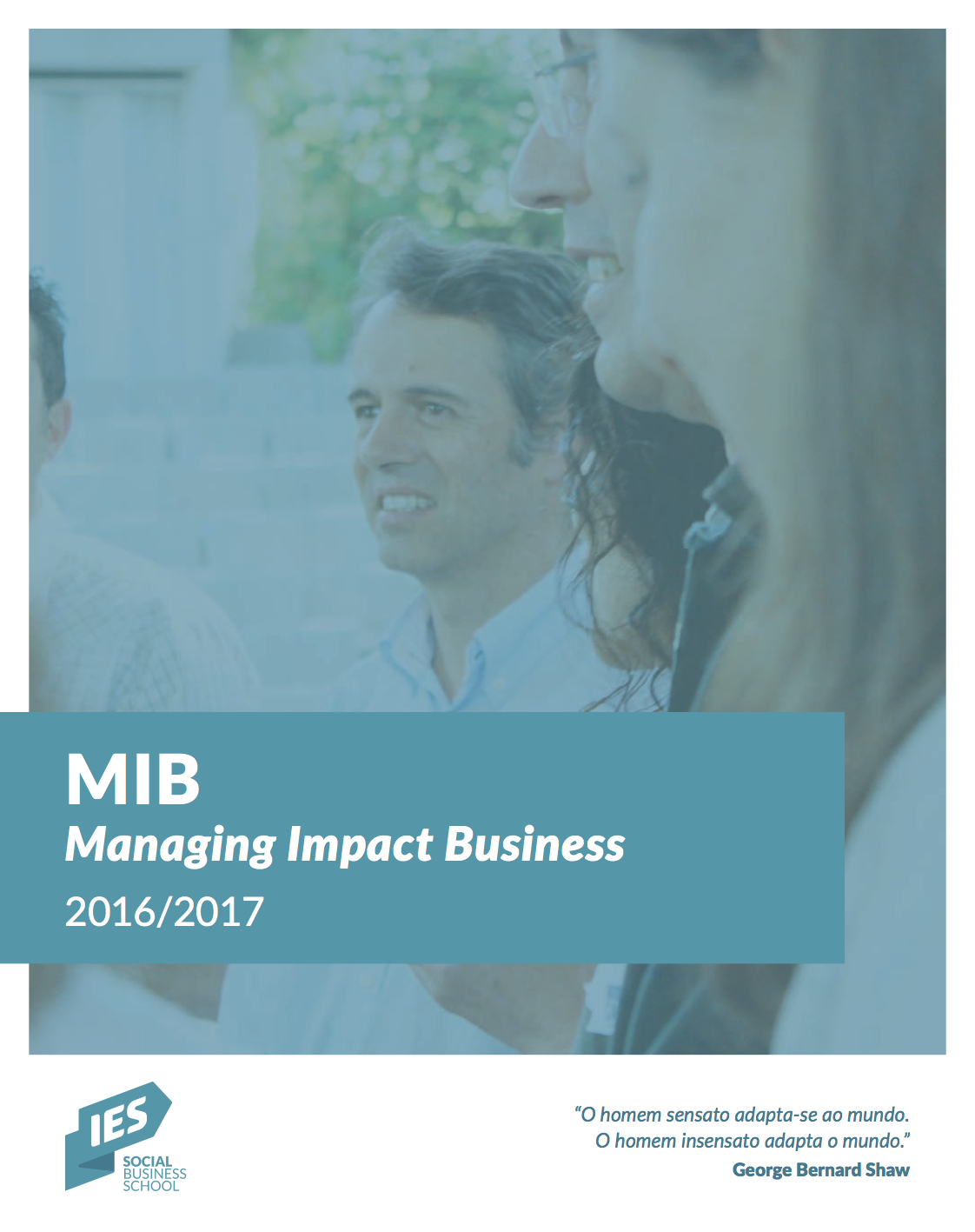 Brochure for the  MIB   2016/2017