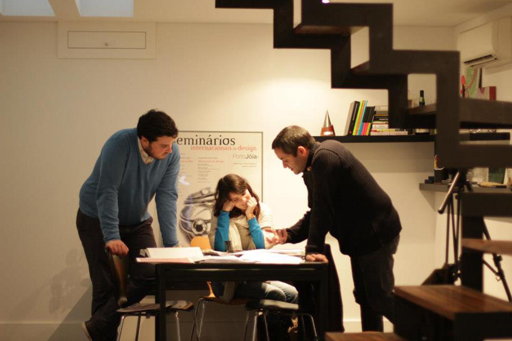 Momento de mentoria a um projeto