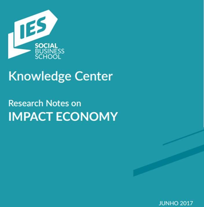 """Tenha aqui acesso às Research Notes IES-SBS     """"Estas notas de investigação dão corpo ao trabalho desenvolvido pela rede de investigadores associados e investigadores que contribuiram para estas  research notes  e refletem o posicionalmento do IES-SBS. Este conjunto de primeiras notas de investigação está dividio em duas partes:  Parte I  - Artigos sobre o IES-SBS e a construção de uma Economia de Impacto;  Parte II  -  Short papers  submetidos por investigadores ou  practioners ."""" ( in Reserch Notes on IMPACT ECONOMY )"""